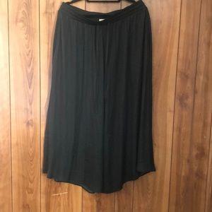 Black Loft Skirt